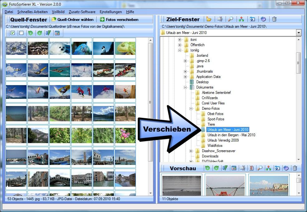 Programm zur Bildverwaltung