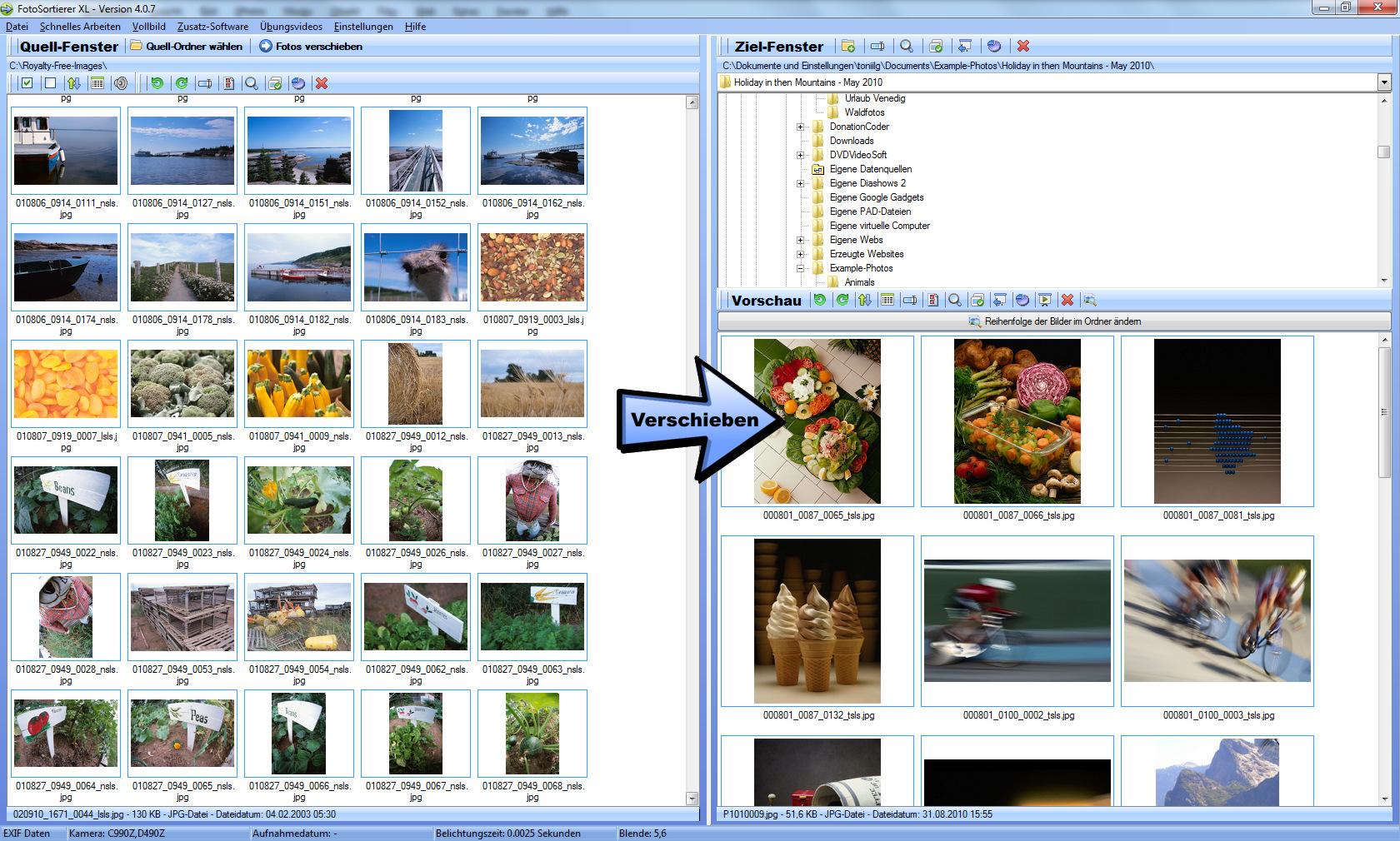 Fotoverwaltungsprogramm